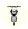 motorcycle off road vector image