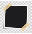 photo frameset realistic paper instant vector image