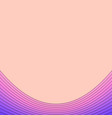 pink and purple background from curved stripe vector image vector image