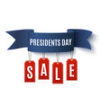 Presidents Day sale background template vector image vector image