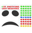 sad emotion smile icon with bonus smile clipart vector image vector image