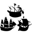 Sail silhouettes vector | Price: 1 Credit (USD $1)