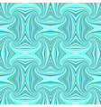 turquoise seamless abstract hypnotic spiral ray vector image vector image
