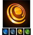 3d vibrant spirals