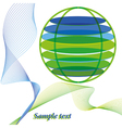 abstarct world vector image vector image