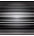 Abstract retro striped black and grey background vector image vector image