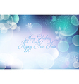 background for Christmas and New Year vector image vector image