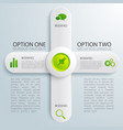 infographic business design concept vector image vector image