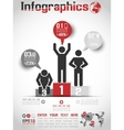 INFOGRAPHICS MODERN BUSINESS BUBBLE ICON MAN STYLE