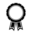 Award ribbon isolated vector image vector image