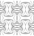 grey abstract psychedelic seamless striped vortex vector image vector image