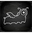 Hand Drawn Alien vector image vector image
