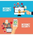 Internet security design System icon Colorful vector image vector image