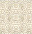 traditional arabesque seamless pattern repeatable vector image vector image