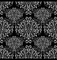 vintage tapestry floral seamless pattern vector image
