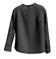 Black Jacket vector image
