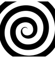 Hypnosis Spiral Pattern Optical vector image