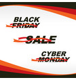 2016-12 sale friday monday vector image vector image