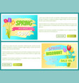 best discount off sdvertisement sticker sale vector image vector image