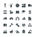 Industrial Cool Icons 4 vector image vector image