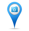 location camera icon vector image vector image