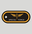 military token emblem special force army