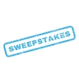 Sweepstakes Rubber Stamp vector image vector image
