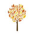 Tree Icon on white background Isolated vector image vector image