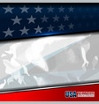 usa color flag texture vector image vector image