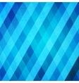 Abstract crumpled blue background vector image