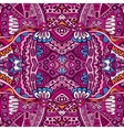 Abstract festive ethnic tribal pattern vector image vector image