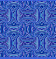 blue seamless hypnotic abstract spiral ray burst vector image vector image