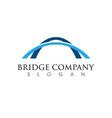 bridge icon logo vector image