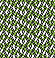 Bright rhythmic textured endless pattern green vector image vector image