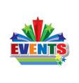 events design vector image