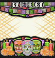 frame for day dead vector image