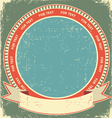 vintage label background vector image vector image