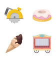 zoo business cooking and other web icon in vector image vector image