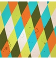 Abstract crumpled retro background vector image vector image