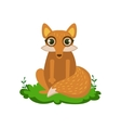 Fox Friendly Forest Animal vector image vector image