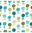 seamless light floral background vector image vector image