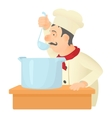 Cooking chef icon cartoon style vector image vector image