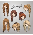 Different cartoon hairstyles