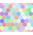 Hexahedron colorful seamless pattern vector image