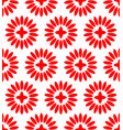 simple floral pattern repeatable vector image