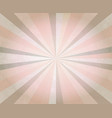 abstract retro background ray beam retro pattern vector image vector image