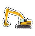 construction trucks design vector image vector image
