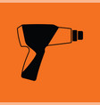 electric industrial dryer icon vector image