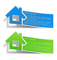 Flyers with a house vector | Price: 3 Credits (USD $3)
