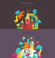 Imagination and Creativity vector image vector image